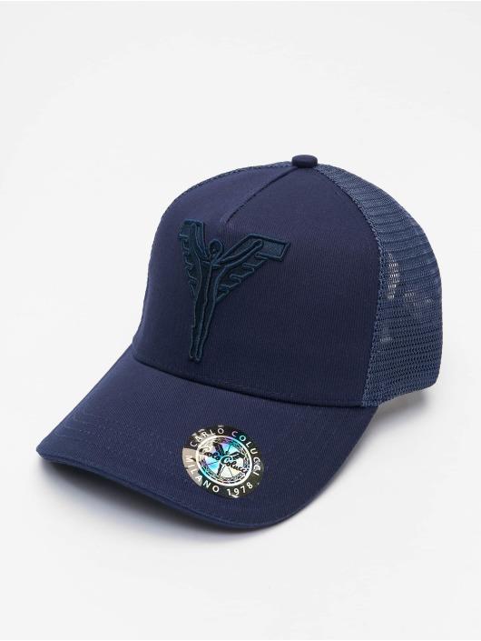 Carlo Colucci Trucker Caps Colucci blå