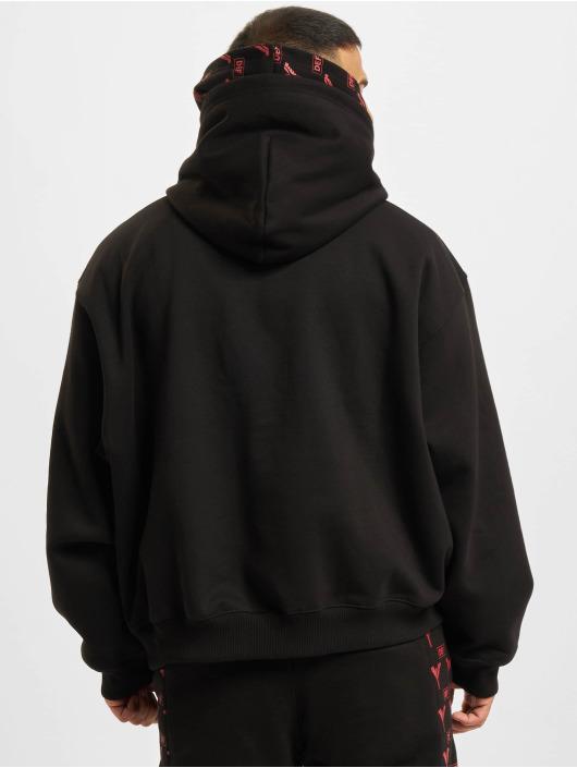 Carlo Colucci x DEF Bluzy z kapturem Logo czarny