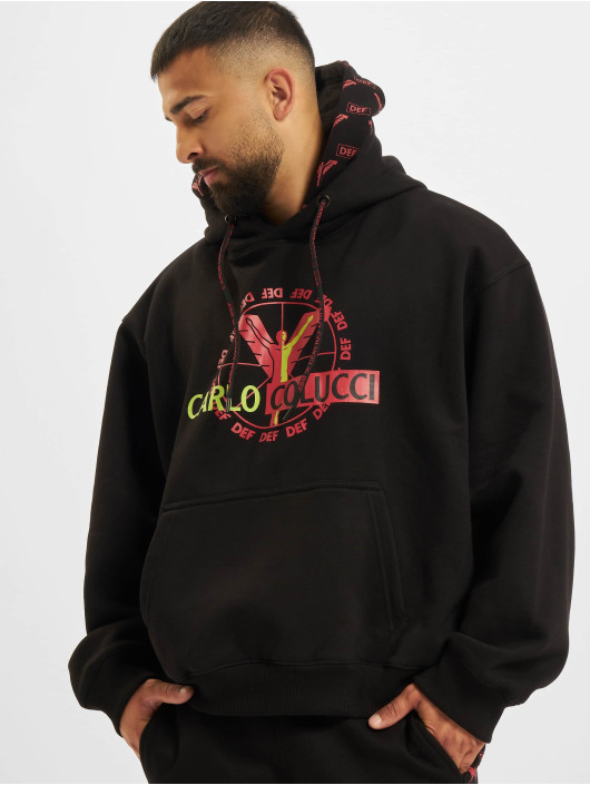 Carlo Colucci x DEF Hoodie Logo black