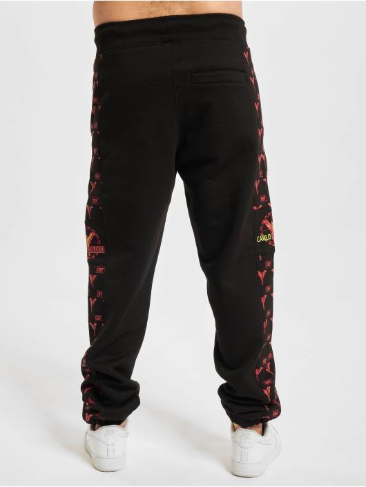 Carlo Colucci x DEF Spodnie do joggingu Logo czarny
