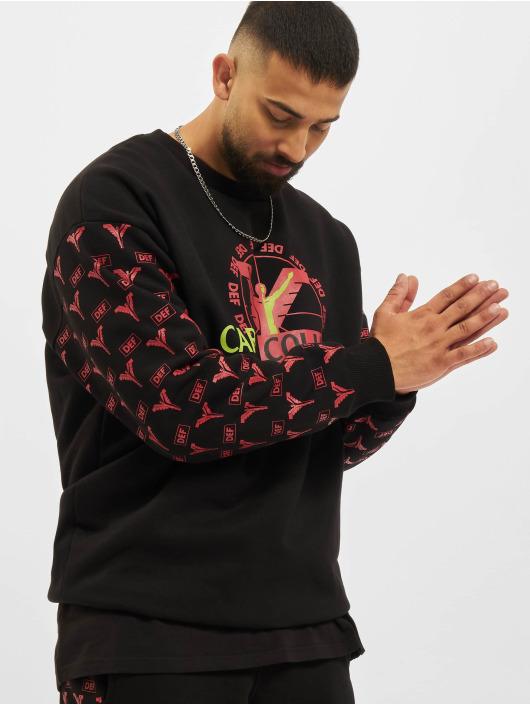 Carlo Colucci x DEF Swetry Logo czarny