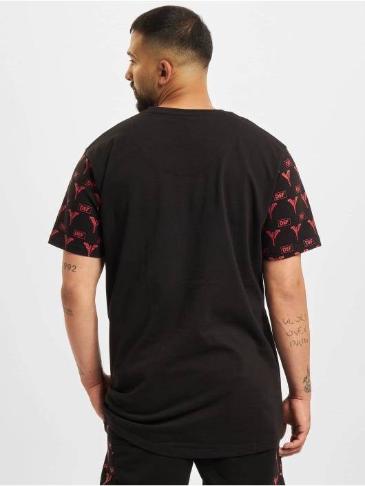Carlo Colucci x DEF T-Shirt Logo schwarz