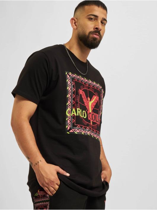 Carlo Colucci x DEF T-Shirty Logo II czarny