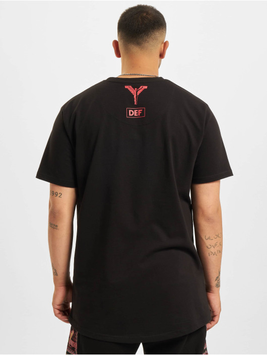 Carlo Colucci x DEF T-skjorter Logo II svart