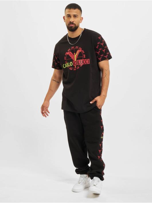 Carlo Colucci x DEF T-skjorter Logo svart