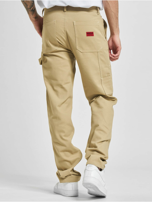 Caterpillar Cargohose Workwear Carpenter beige