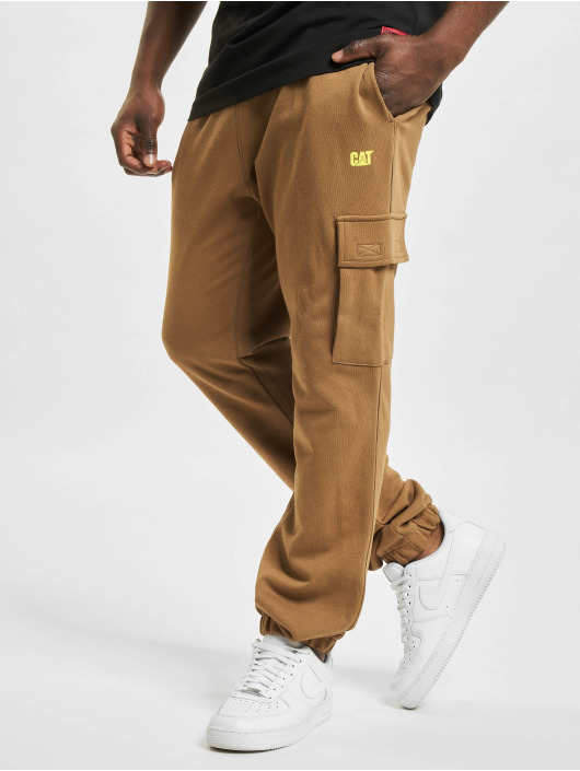 Caterpillar Pantalon cargo Sweat brun