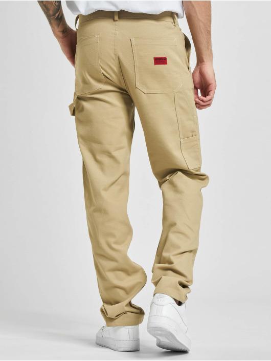 Caterpillar Spodnie Chino/Cargo Workwear Carpenter bezowy