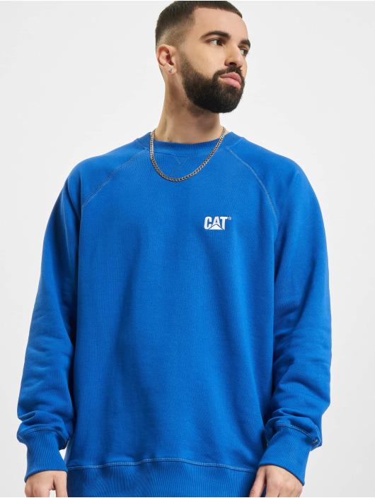 Caterpillar Sweat & Pull Small Logo Roundneck bleu