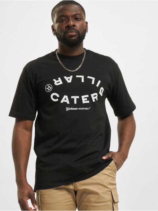 Caterpillar T-Shirt Vintage Workwear black