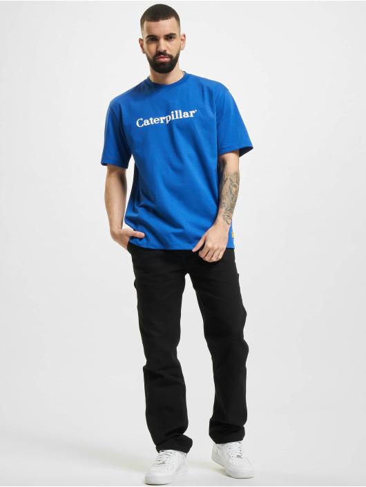 Caterpillar T-Shirt Classic blau