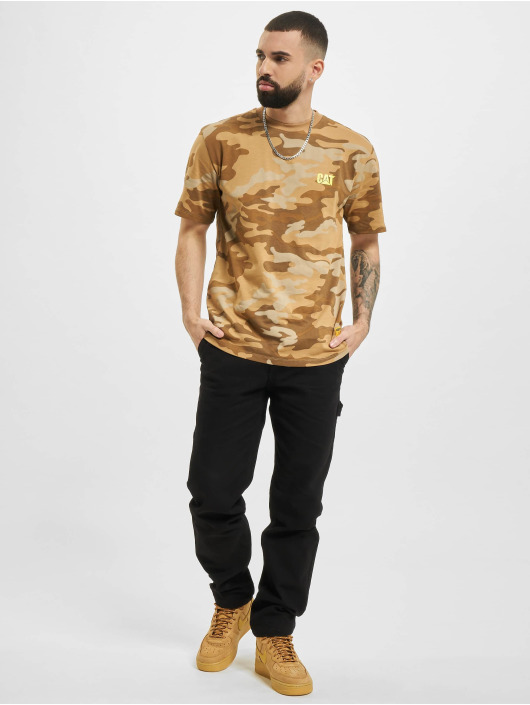 Caterpillar T-Shirt Small Logo camouflage