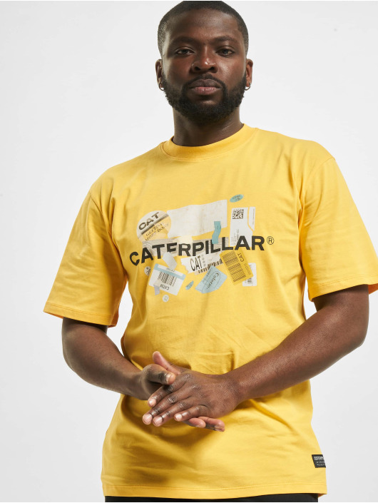 Caterpillar T-Shirt Power gelb