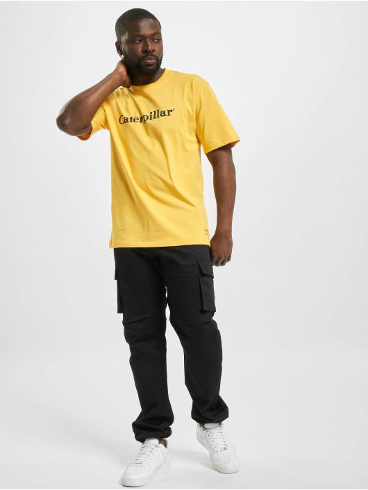 Caterpillar T-Shirt Classic gelb