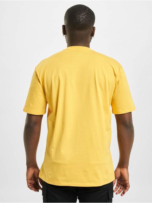 Caterpillar T-Shirt Small Logo gelb