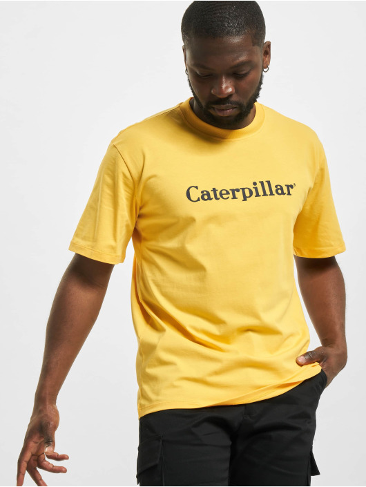 Caterpillar T-Shirt Classic jaune