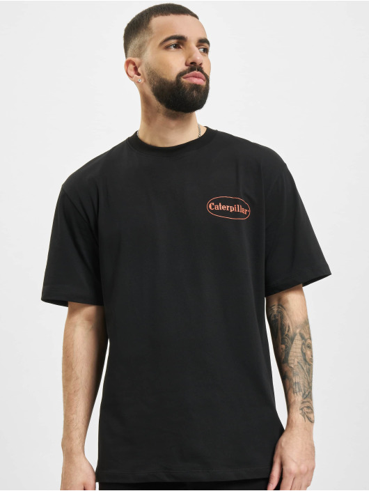 Caterpillar T-Shirt Vintage Pic noir