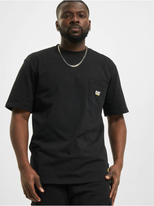 Caterpillar T-Shirt Pocket noir