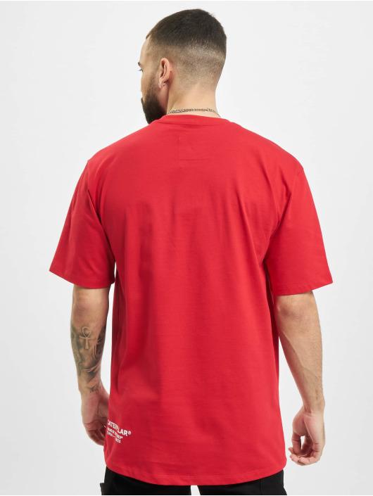 Caterpillar T-Shirt Vintage Workwear rot