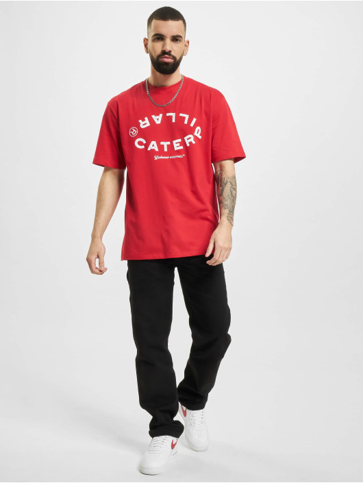 Caterpillar T-Shirt Vintage Workwear rouge
