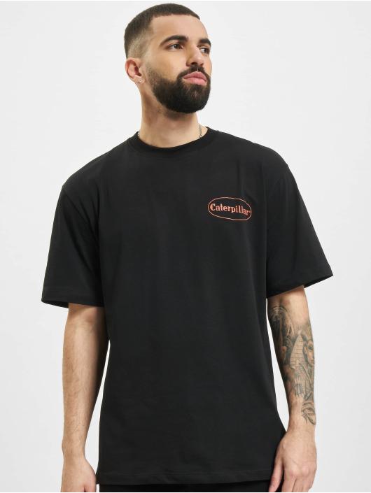 Caterpillar T-Shirt Vintage Pic schwarz