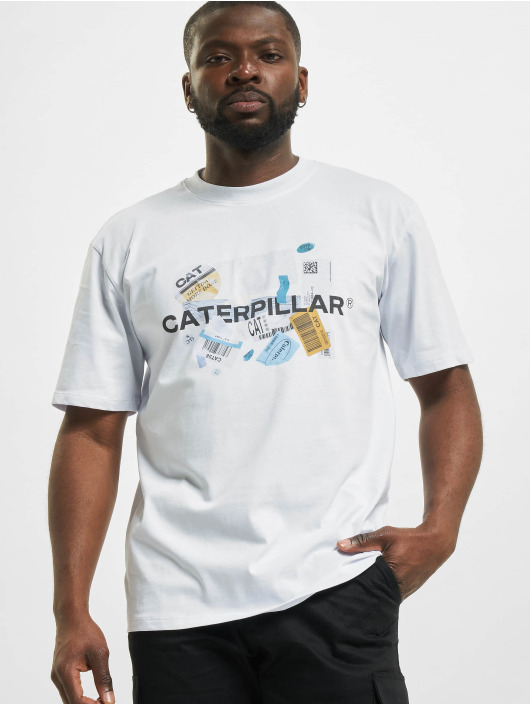 Caterpillar T-Shirt Power weiß