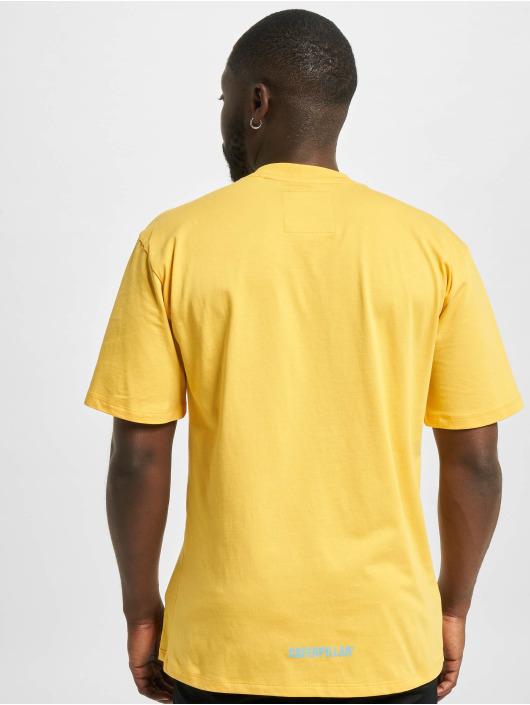 Caterpillar T-Shirt Power yellow