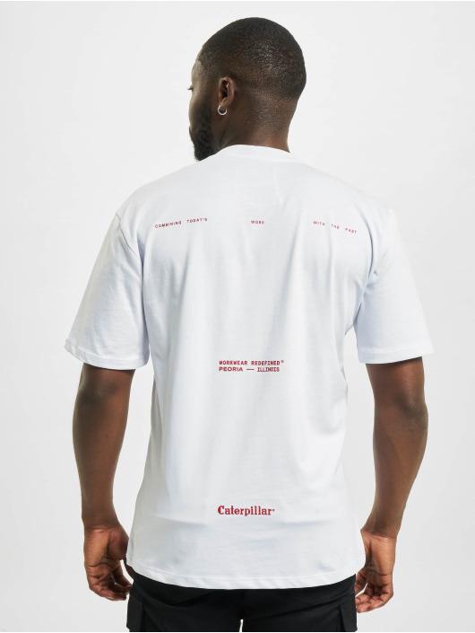 Caterpillar T-Shirty Workwear bialy