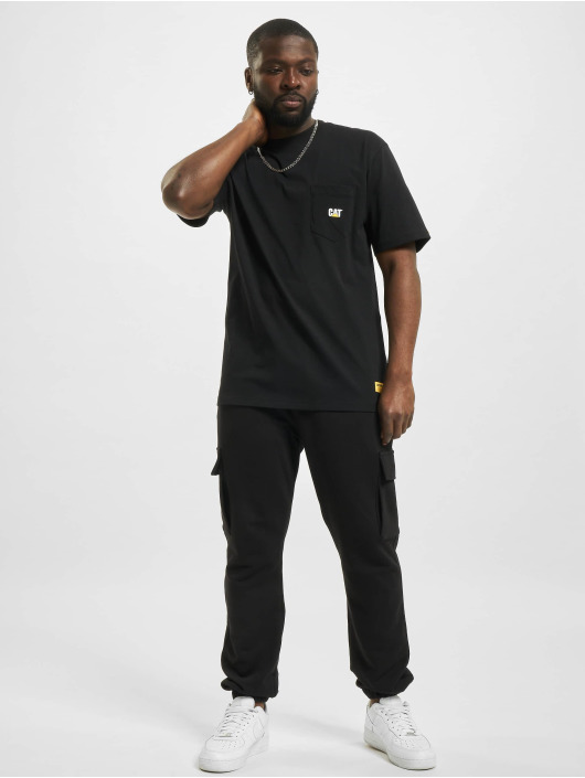 Caterpillar T-Shirty Pocket czarny