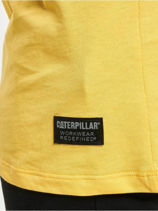 Caterpillar T-Shirty Power zólty