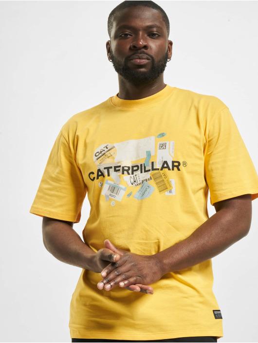 Caterpillar Tričká Power žltá