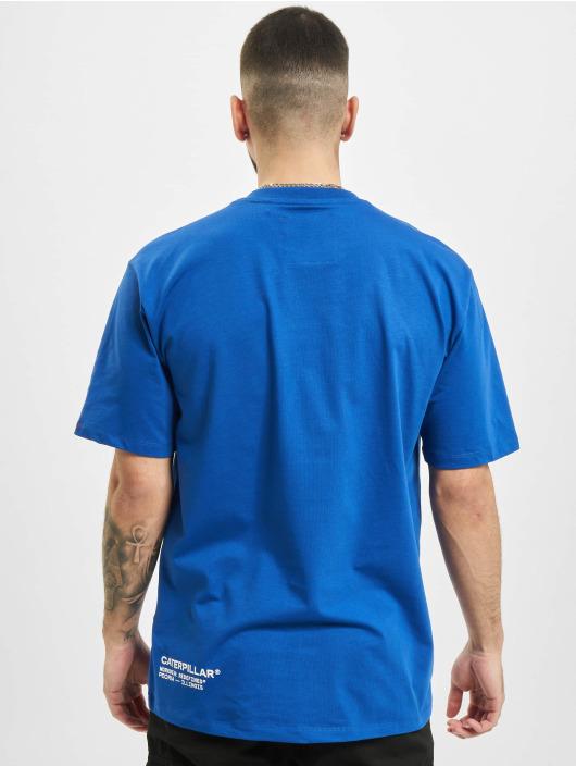 Caterpillar Tričká Vintage Workwear modrá
