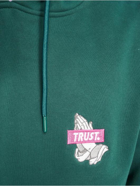 Cayler & Sons Bluzy z kapturem Trusted zielony