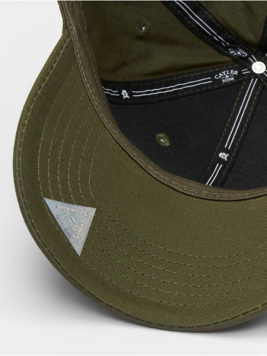 Sons Flex Fitted Casquette Rollin 2pac Cayleramp; Wi Olive 650920 E2DH9WI