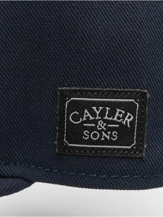 Cayler & Sons Casquette Snapback & Strapback Wl On My Mind bleu