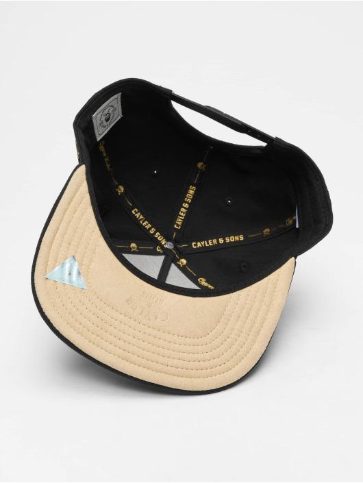 Cayler & Sons Casquette Snapback & Strapback Cl Navigating noir