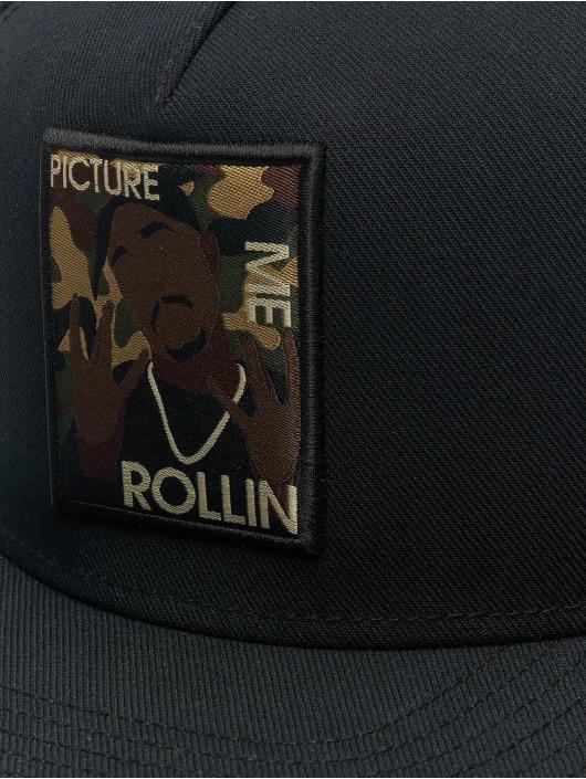 Cayler & Sons Casquette Snapback & Strapback WI 2pac Rollin noir