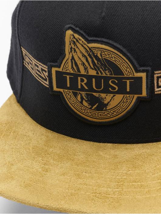 Cayler & Sons Casquette Snapback & Strapback WL Golden Trust noir