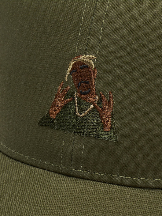 Cayler & Sons Casquette Snapback & Strapback WI 2pac Rollin olive