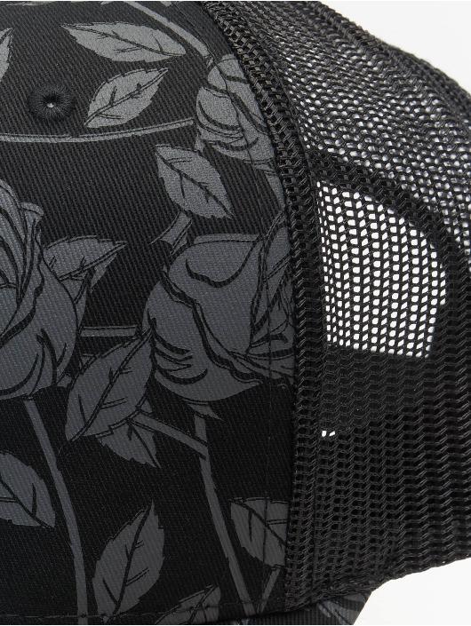 Cayler & Sons Casquette Trucker mesh Statement Black Roses noir