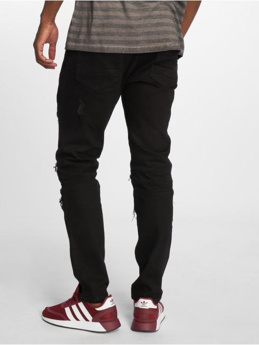 Cayler & Sons Dżinsy straight fit Alldd Paneled Inverted czarny