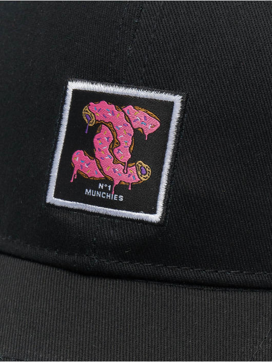 Cayler & Sons Flexfitted Cap Munchel black