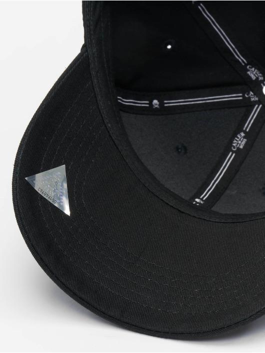 Cayler & Sons Flexfitted Cap Munchel schwarz