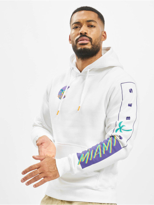 Cayler & Sons Hoodie Miami Vibes white