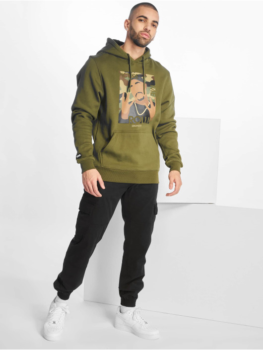 Cayler & Sons Hoodies 2pac Rollin oliven