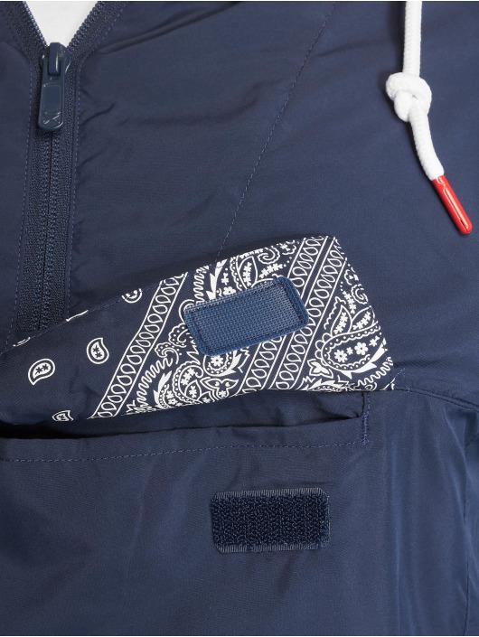 Cayler & Sons Lightweight Jacket Westcoast Half Zip blue