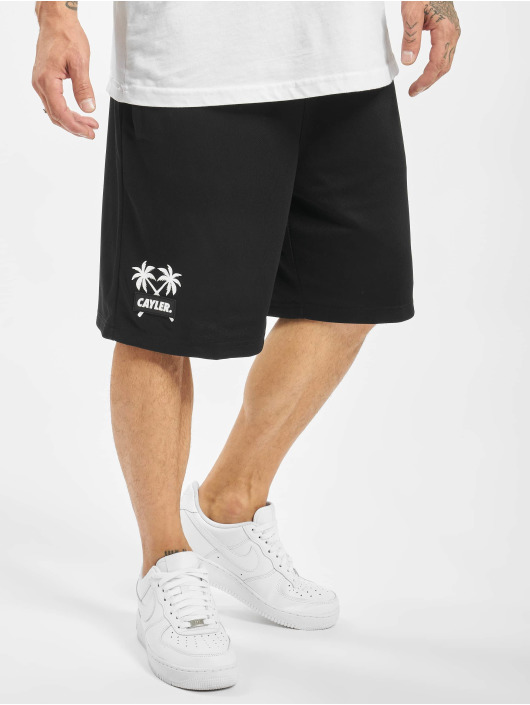 Cayler & Sons Shorts Statement Palms Mesh schwarz
