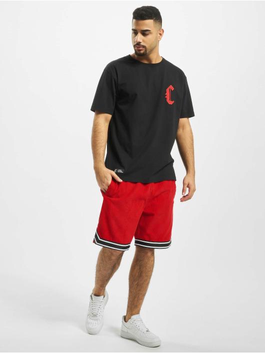 Cayler & Sons Shortsit BL Reverse Banned Cord punainen
