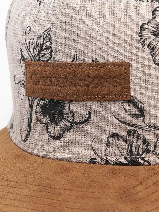 Cayler & Sons Snapback Cap CL Vibin beige