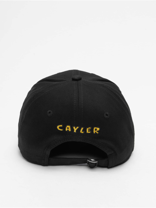 Cayler & Sons Snapback Cap WL Low Lines Curved black